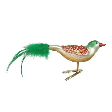 christmas bird clip on ornament traditions