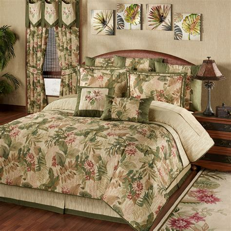 tropical bedding king tropical haven comforter bedding
