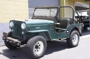 rugged 1953 willys jeep cj 3b