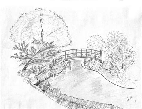 Easy Landscape Sketches To Draw Easy Beach Landscape Landscape Drawing Ideas