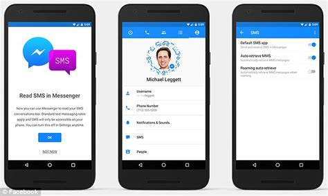 Android Like A Text by Android Users Can Now Make S Messenger Their