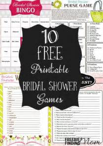 bridal shower free printable 10 free printable bridal shower