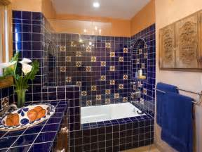 Mexican Tile Bathroom Designs by Spice Up Your Casa Spanish Style Interior Design Styles