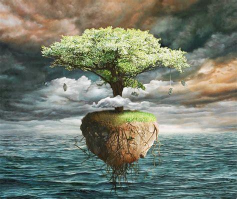 imagenes arte surrealista pinturas al oleo paisajes surrealistas pinturas