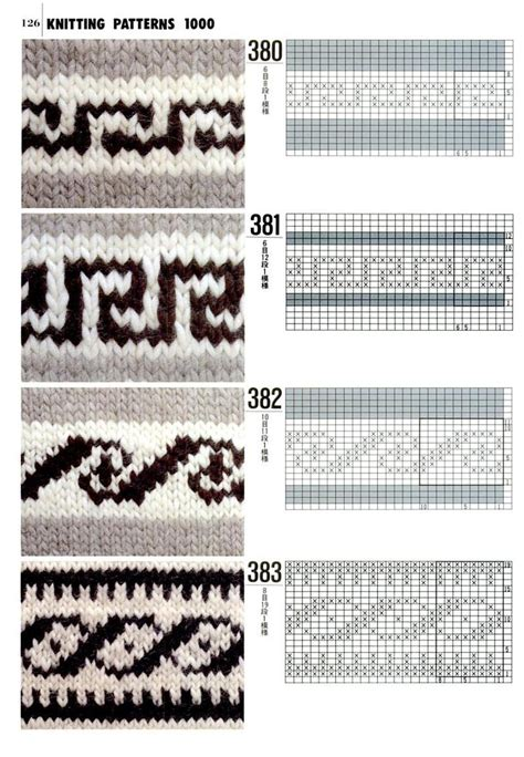 fair isle knitting motifs 1000 images about knitting charts on fair