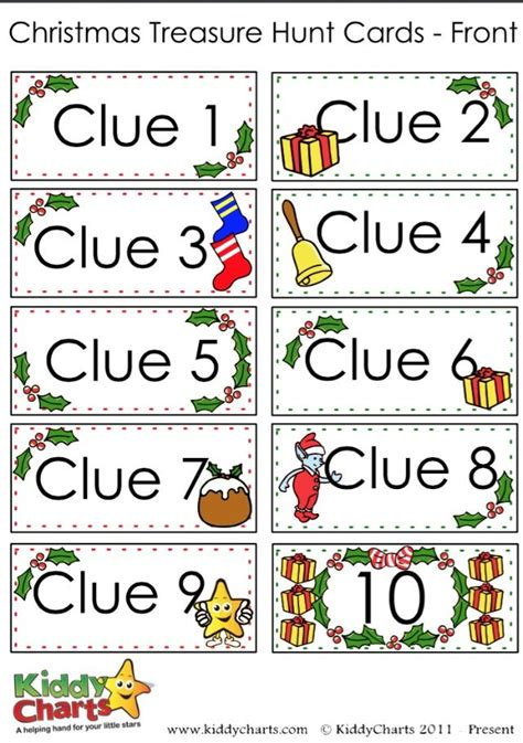 scavenger hunt clue cards template scavenger hunt free printable clue cards for
