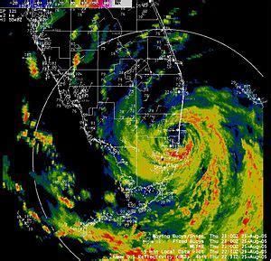 timeline of hurricane