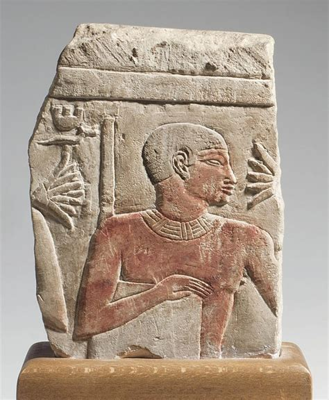 old ancient egypt an egyptian limestone relief fragment old kingdom dynasty