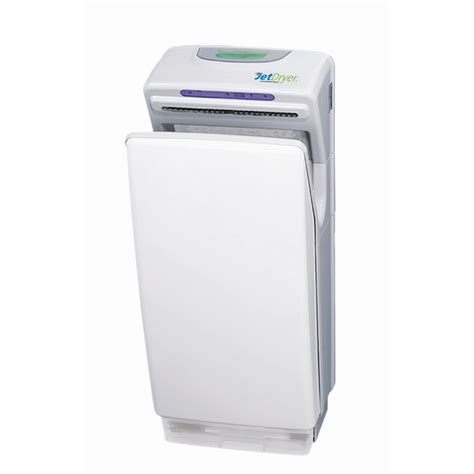 bathroom hand dryer jetdryer white business bathroom hand dryer bunnings