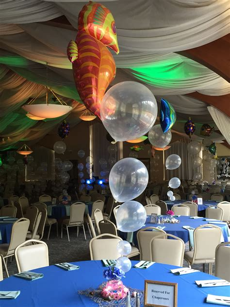 the sea centerpieces the sea theme albany wedding dj sweet 16 dj