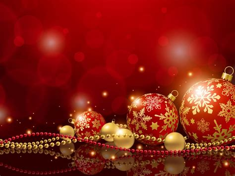 new years decorations christmas holiday balls new year red