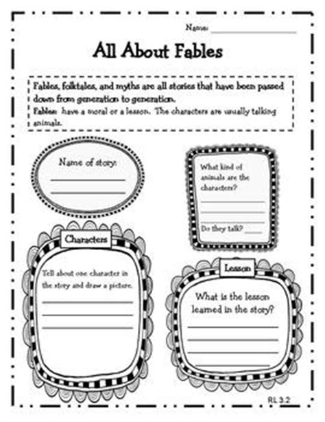 Fables Worksheets For 3rd Grade by From The Mixed Up Files Whole Book Test Language