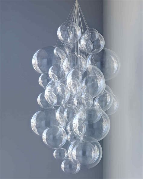 bubble chandelier martha stewart