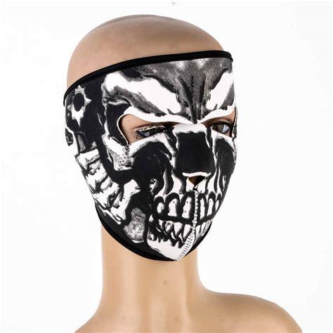 Masker Motor S9 Balaclava Masker Skull Cap Skull Tengkorak Murah neoprene soft motorcycle skull skeleton mask outdoor ski mask new