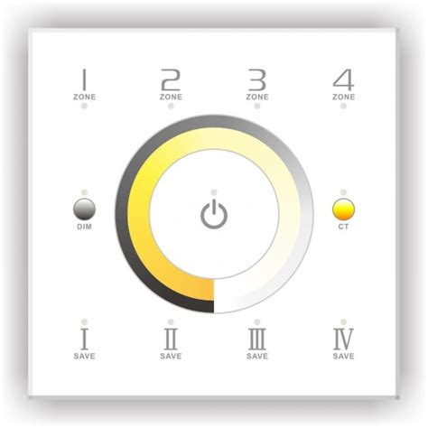 led touch l dimmer led dimmer touch dim ct 4 zones d7