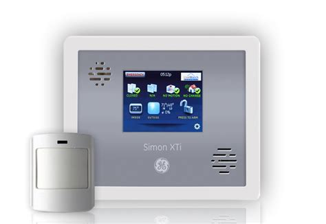 simon xti wireless home security touchscreen package
