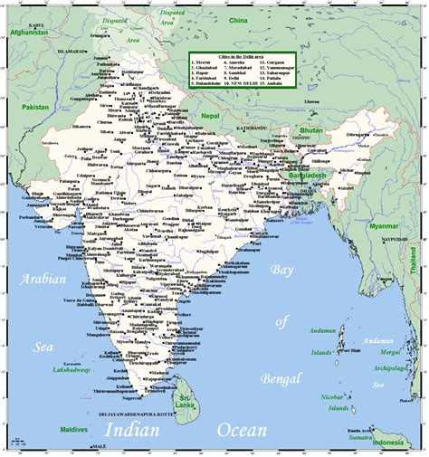 india map with cities related keywords suggestions for india map with cities