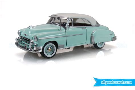 1950 chevrolet models 1950 chevy bel air classic mist green 1 24 scale die cast