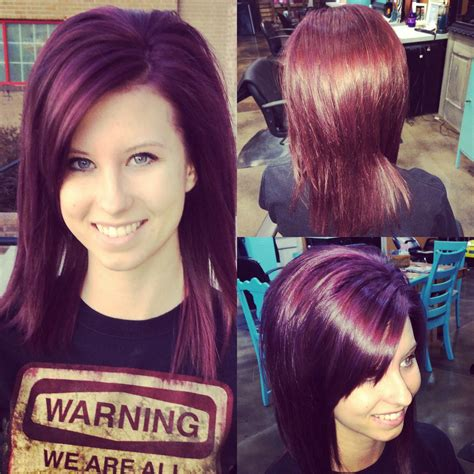 eggplant hair color plum eggplant hair color www imgkid the image kid