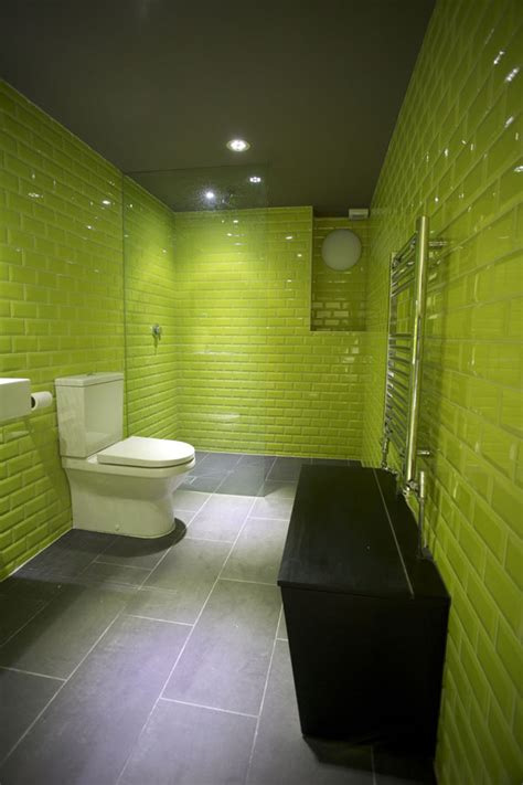 green tile bathroom ideas 40 lime green bathroom tiles ideas and pictures