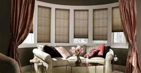 shades for bow windows bay windows need beautiful window treatments