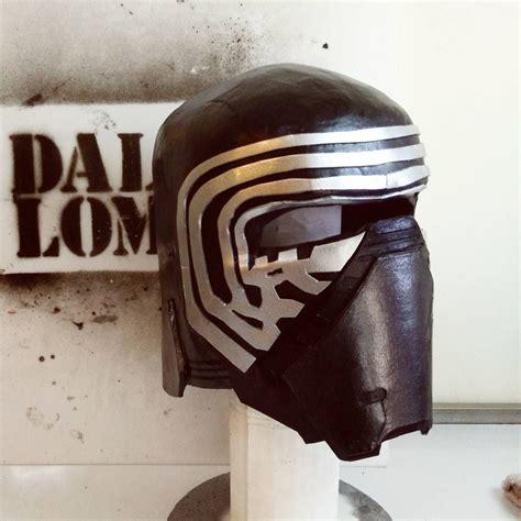 how to create a kylo ren wars the dali lomo wars kylo ren costume helmet diy