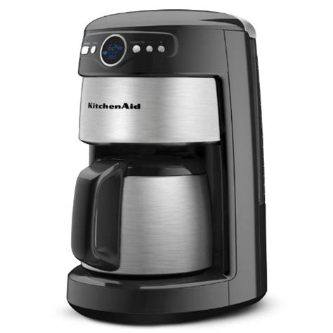 KitchenAid 12 Cup Thermal Carafe Coffee Maker, Onyx Black   www.cafibo.com