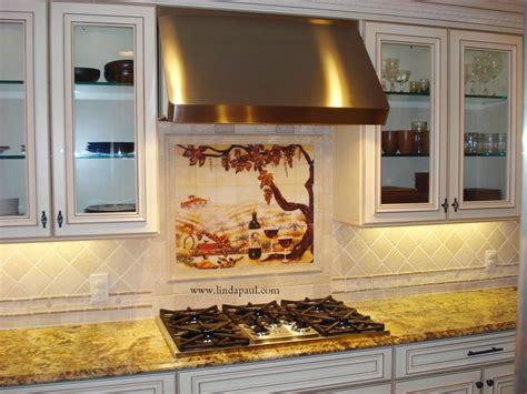 kitchen mural ideas backsplash murals travertine
