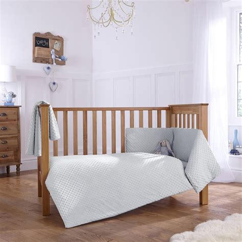 Cot Bed Bumper Sets Uk Dimple 3 Cot Cot Bed Quilt Bumper Bedding Set