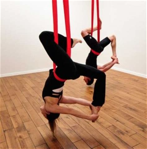 aerial combine traditional poses pilates and with the use of a hammock books aerial living balance