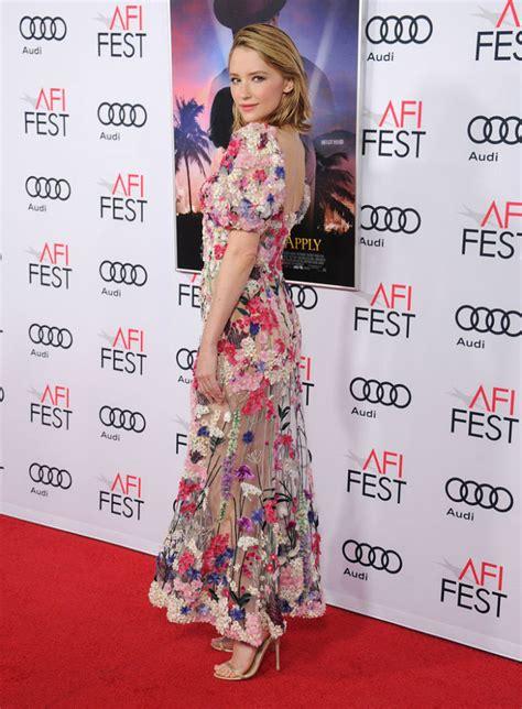 haley bennett accent haley bennett s floral dress is like nothing we ve ever