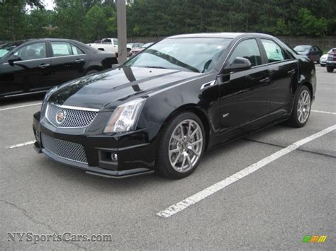 Cts V Black by 2011 Cadillac Cts V Black 200 Interior And Exterior Images