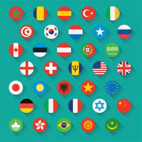 Italian Embassy by Flags Icons Vector Free Download