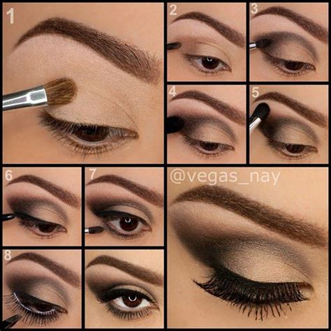 7 Best Smokey Eye by 13 Of The Best Eyeshadow Tutorials For Brown