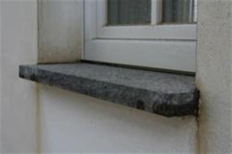 außenfensterbank granit aussenfensterbank naturstein bauunternehmen