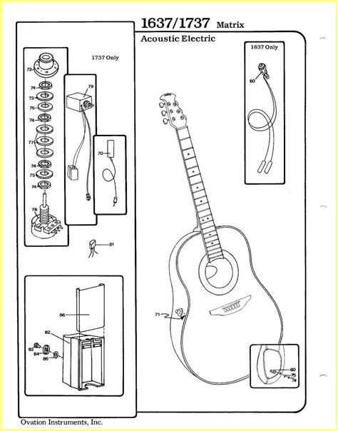 ovation guitar wiring diagram 28 images ovation
