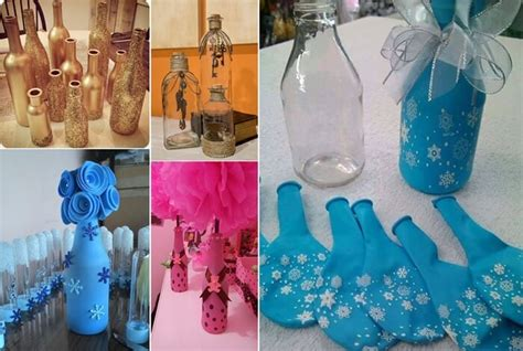 How To Decorate Glass Jars by Cool Ways To Decorate Glass Bottles