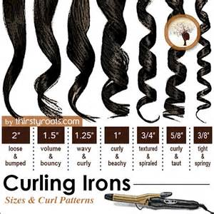 what is the best size curling iron for medium length hair yhat is thin curling iron barrel size useful tips tricks pinterest