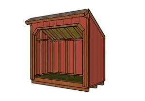 4x8 wood shed plans myoutdoorplans free woodworking