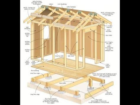 shed plans   build  shed  plansblueprints