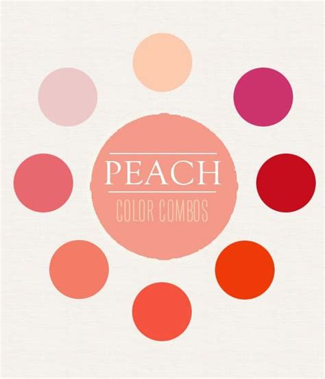 colours that go with peach pin by shana bearden on pastel color inspiration pinterest