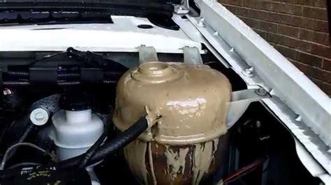 engine oilcoolant milkshake mix youtube