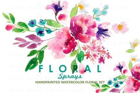 Istanaku Sprei Flower 200 X 200 Pink Floral Spray Clipart 14