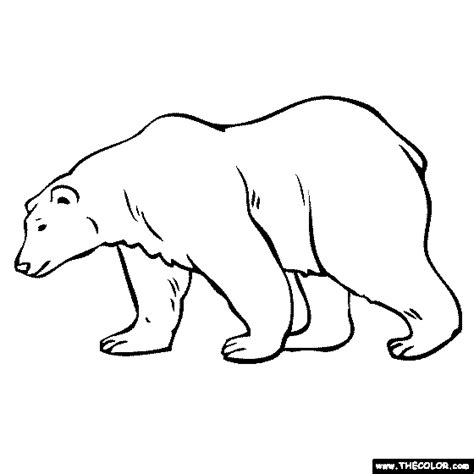 coloring page of a polar bear online coloring pages starting with the letter p page 6