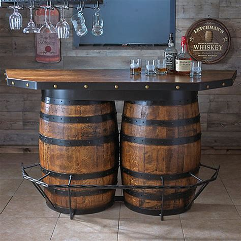 Kitchen Cabinet Displays For Sale Tennessee Whiskey Barrel Bar Wine Enthusiast