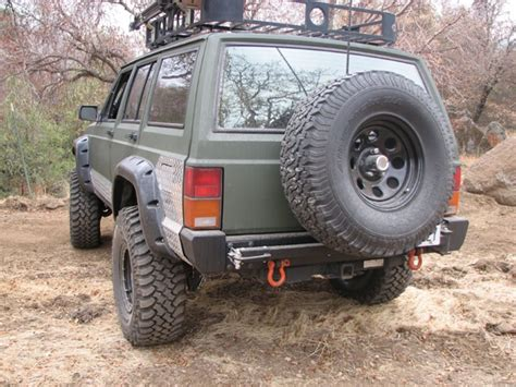 Jeep Xj Bumpers C4x4 Rear Bumper Jeep Xj 84 96 Xj Rb