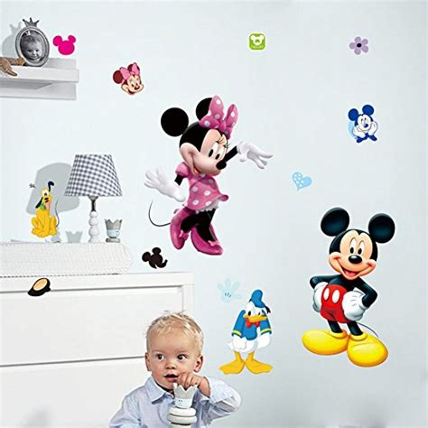 disney removable wallpaper fangeplus tm diy removable disney mickey and minnie mouse
