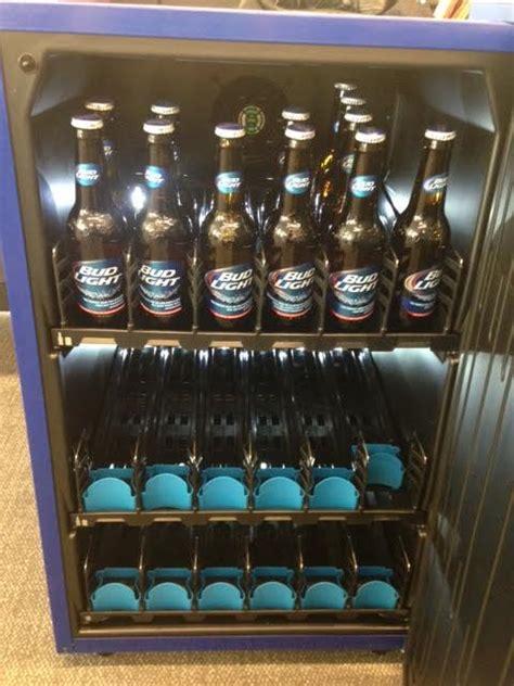 bud light vending machine here s bud light s 299 smart fridge agencyspy
