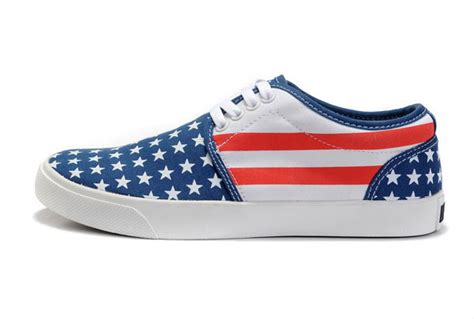 converse american flag sneakers new converse american flag skateboard shoes blue white