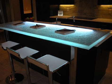 glass countertop 1 5 quot for sushi bar project by cbd glass